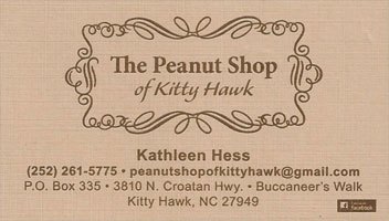 The Peanut Shop of Kitty Hawk